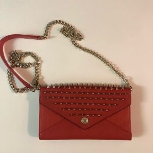 Red crossbody/clutch